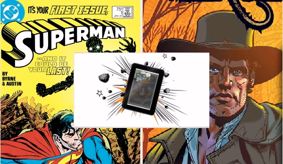 Free Kindle Comic Books include Superman