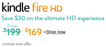 July 4th Kindle Fire HD sale at Amazon