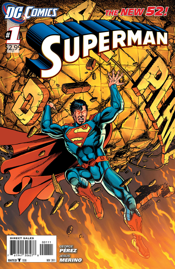 Superman - the New 52 - #1 (cover)