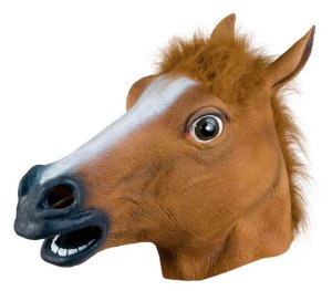 Horse Head Mask from Amazon