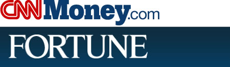 The CNNMoney and Fortune magazine logo