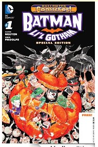 Batman Li'l Gotham Halloween cover