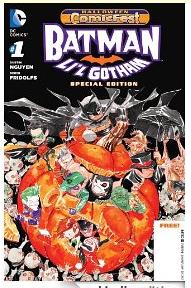 Batman Li'l Gotham Halloween cover