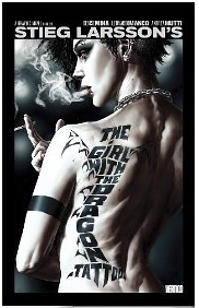 The GIrl with the Dragon Tattoo graphic novel cover