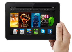 Amazon Discounts Kindle Fire HDX for Cyber Monday