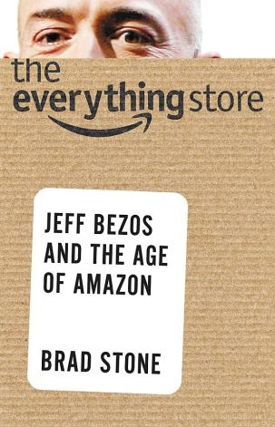 The Everything Store - cover of Brad Stone book about Amazon