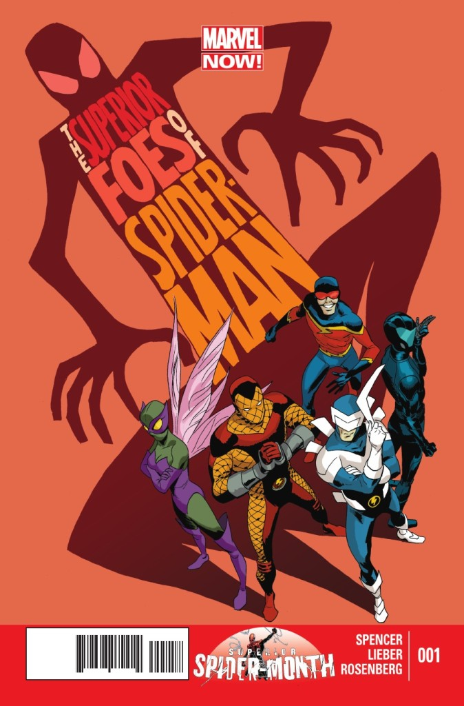 The Sinister Six - Superior Foes of Spider-Man graphic novel cover