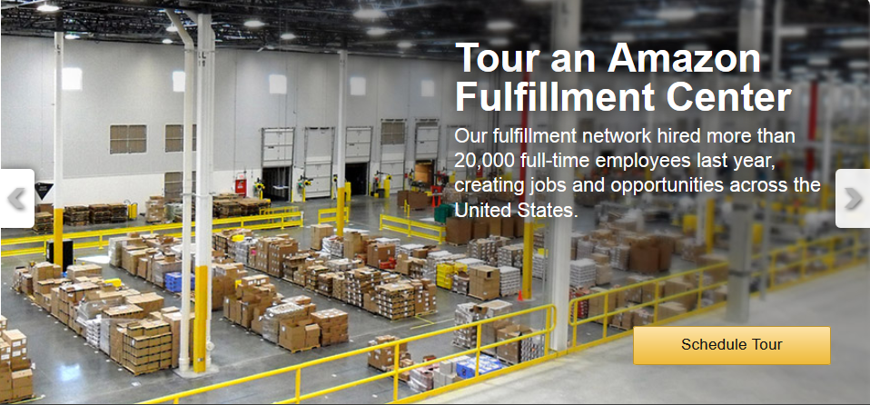 Amazon Warehouse Tour