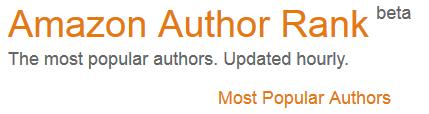 Amazon Author Rank