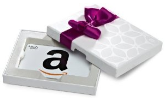Amazon Gift Card Box with free one-day shipping