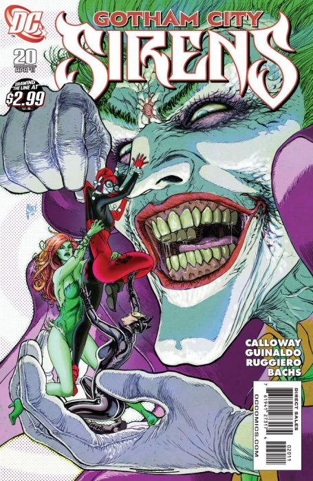 Harley Quinn, Poison Ivy and Joker in Gotham City Sirens 20