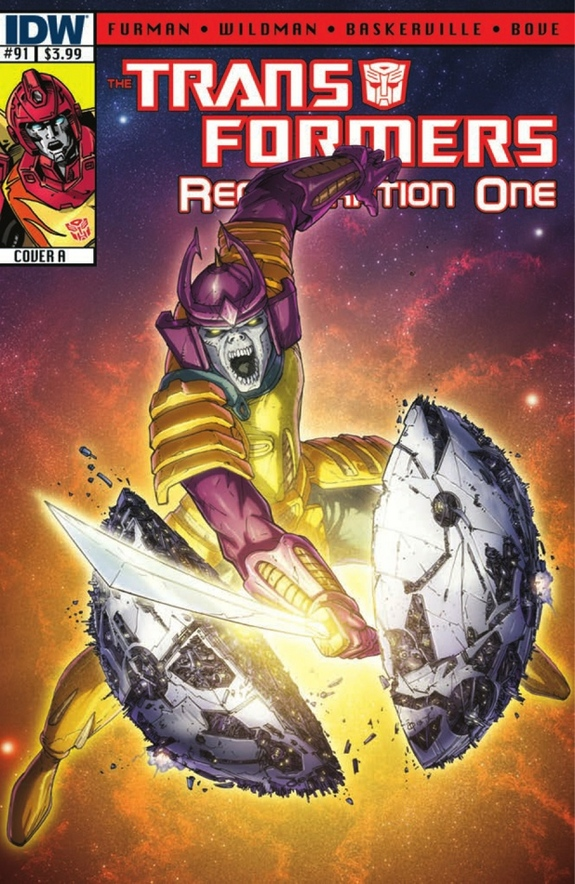 Transformers Regeneration One cover 91
