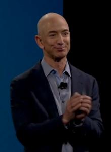 Jeff Bezos introduces the Amazon Fire Phone