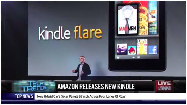 The Onion - Amazon announced Kindle Flare