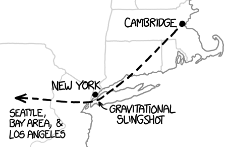 XKCD book tour map
