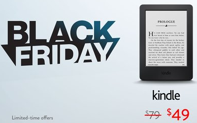 Amazon Black Friday Kindle sale