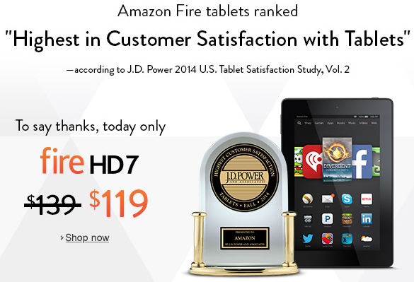 Amazon's Surprise Sale on Kindle Tablets – Me and My Kindle
