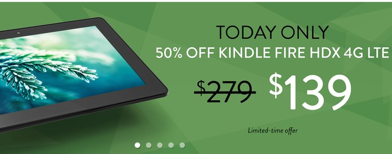 Amazon Christmas Kindle sale