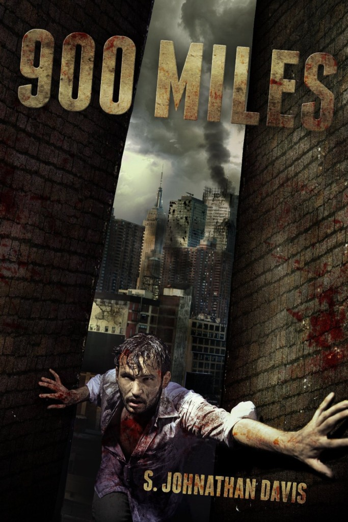 900 Miles - a Zombie Novel by S Johnathan Davis