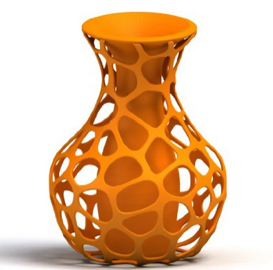 3D Printed Vase from HoloPed