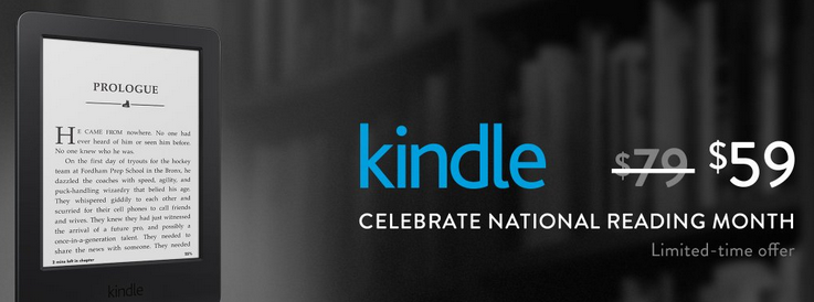 Amazon Celebrates National Reading Month