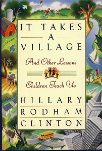 It Takes a Village book cover by Hillary Clinton