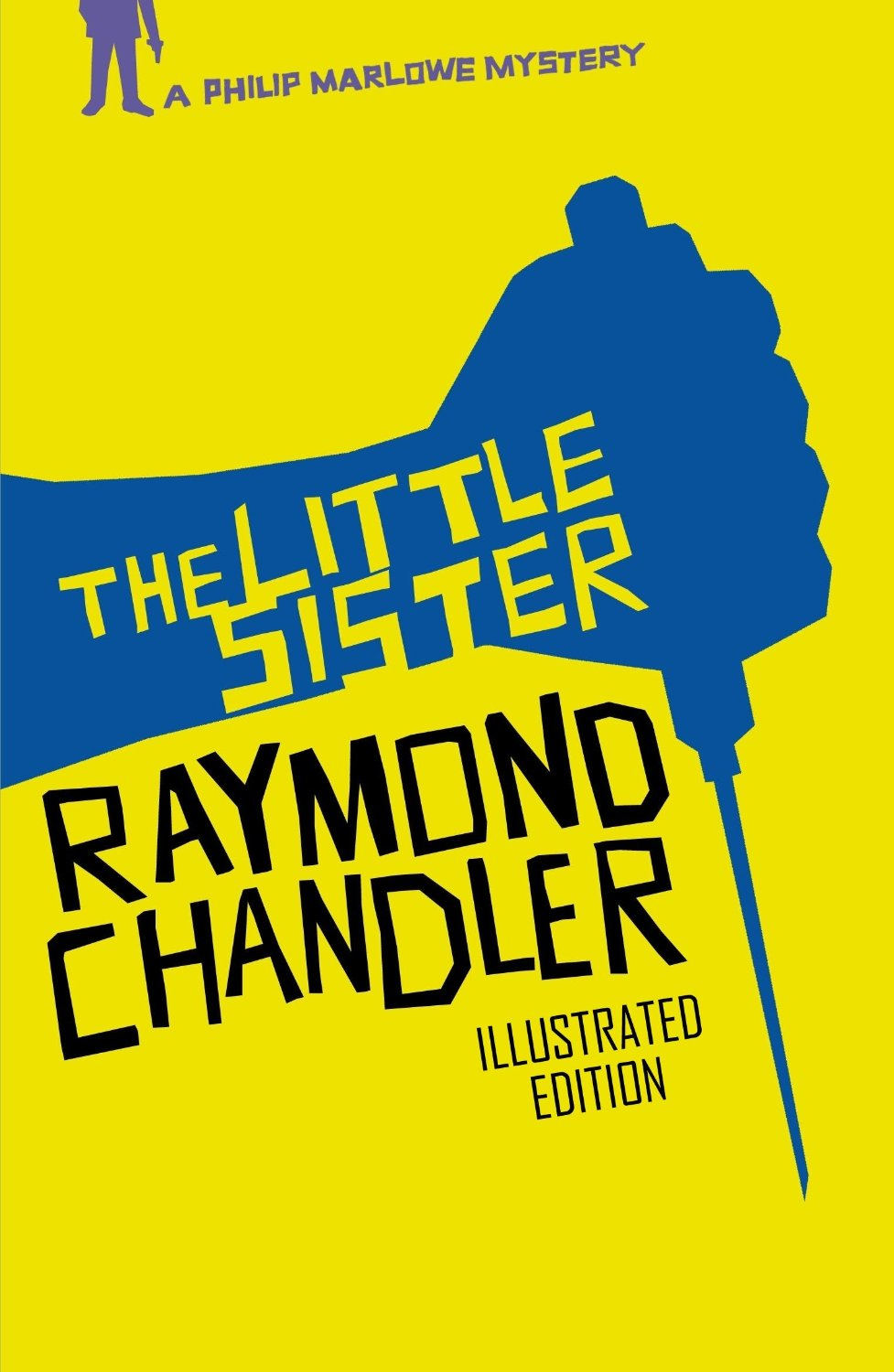 Raymond Chandler book cover - the little sister