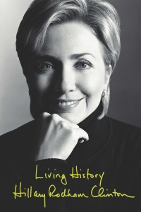 Senator Hillary Rodham Clinton book cover photo - Living History