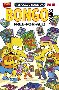 Free Comic Book Day - The Simpsons Bongo Free For All By Matt Groening