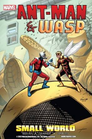 Comic books and graphics novels me and my kindle ant man and wasp small world graphic novel fandeluxe Images