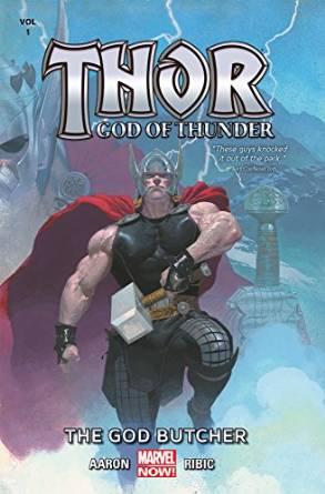 Thor - God of Thunder - The God Butcher cover