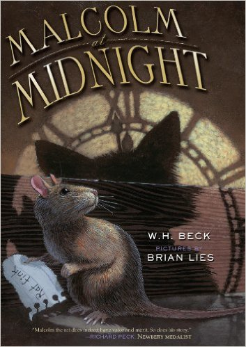 Malcolm at Midnight book cover by Brian Lies