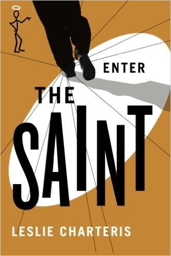Enter The Saint book cover by Leslie Charteris