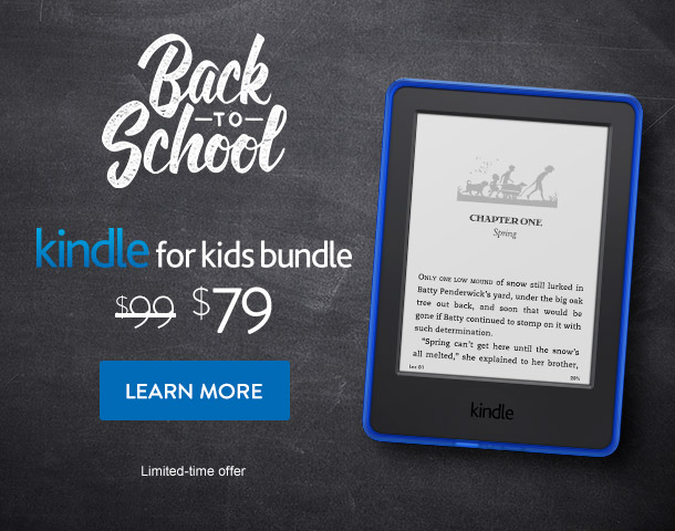 Kids Bundle Kindle - Back to School